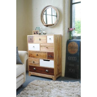 Nostalgic Tall Chest Chest of Drawers Smithers of Stamford £ 860.00 Store UK, US, EU, AE,BE,CA,DK,FR,DE,IE,IT,MT,NL,NO,ES,SE