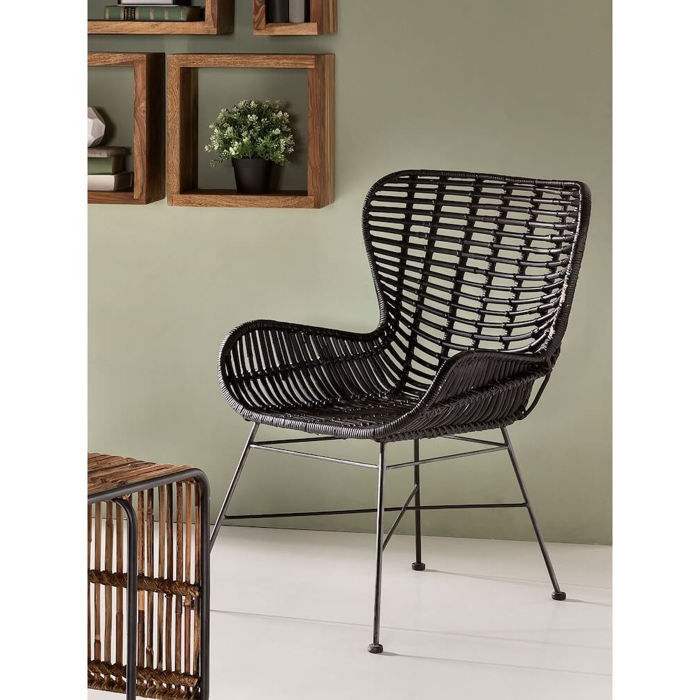 Furniture Store Stamford Ct: Rattan Wingback Chair