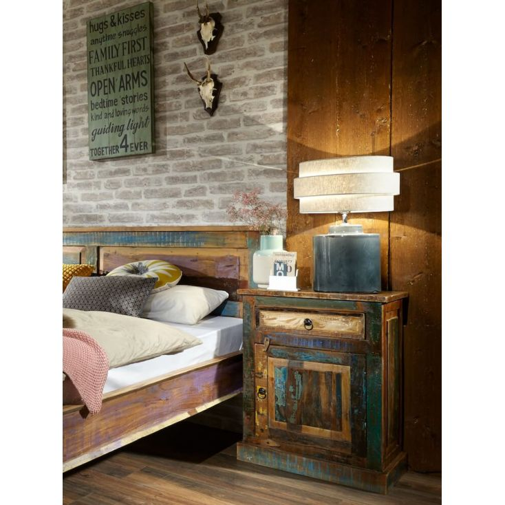 River Thames Bedside Cabinet Reclaimed Wood Furniture Smithers of Stamford £ 454.00 Store UK, US, EU, AE,BE,CA,DK,FR,DE,IE,IT...
