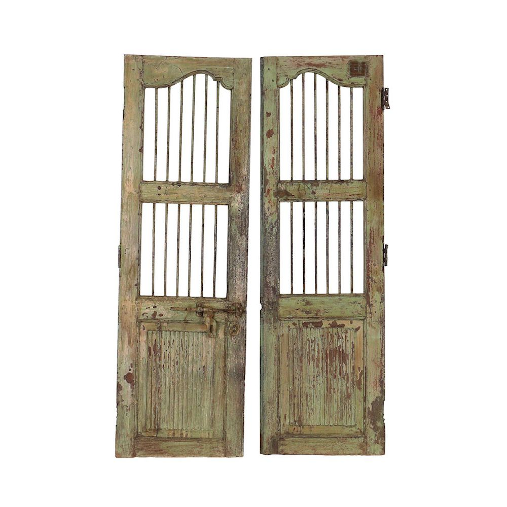Wooden Bar Doors; Wooden Bar Doors ...  sc 1 st  Smithers of Stamford & Reclamation double doors vintage design for industrial modern project pezcame.com