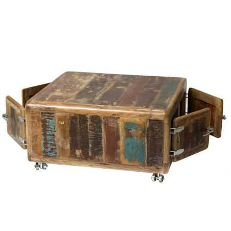 Fridge Reclaimed Storage Coffee Table Recycled Wood Furniture Smithers of Stamford £1,051.25 Store UK, US, EU, AE,BE,CA,DK,FR...