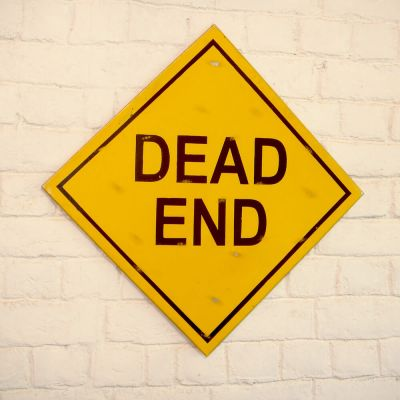 Dead End Sign Retro Signs Smithers of Stamford £ 50.00 Store UK, US, EU, AE,BE,CA,DK,FR,DE,IE,IT,MT,NL,NO,ES,SE