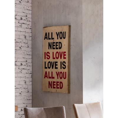 All You Need Is Love Sign Retro Signs Smithers of Stamford £ 69.00 Store UK, US, EU, AE,BE,CA,DK,FR,DE,IE,IT,MT,NL,NO,ES,SE