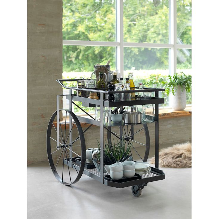 Crazy Wheel Kitchen Trolley