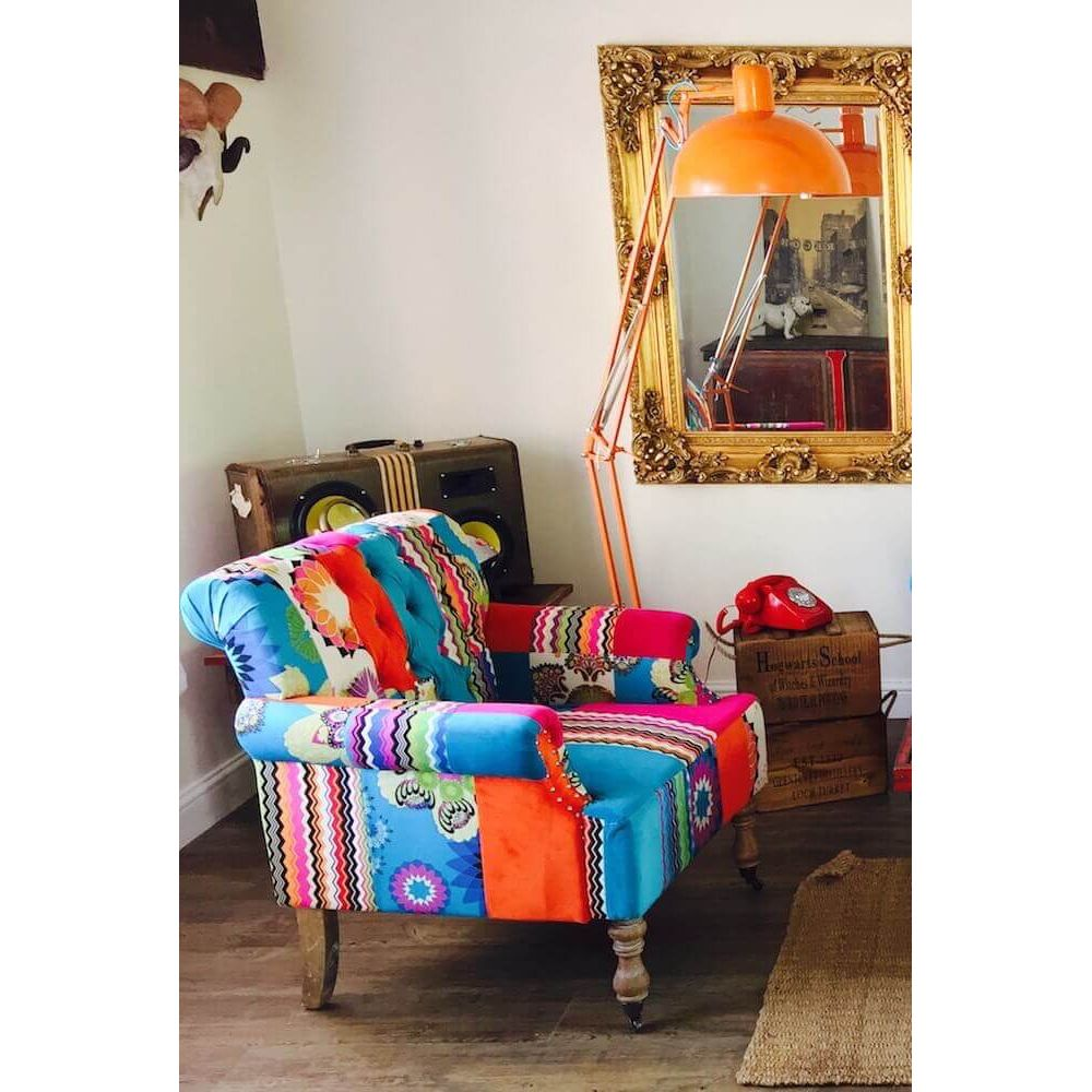 Patchwork Armchair | Patchwork Snuggle Chair