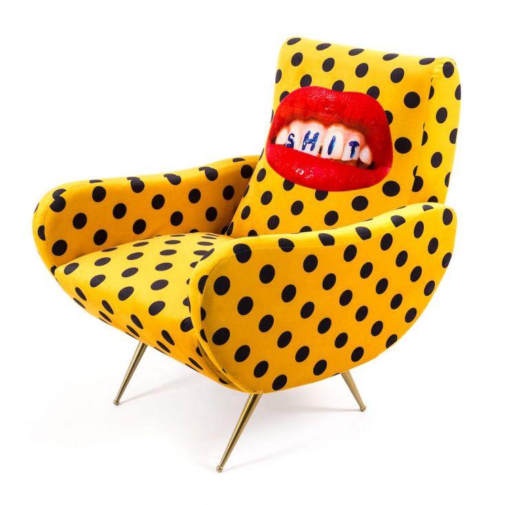Seletti Wears Toiletpaper Armchairs