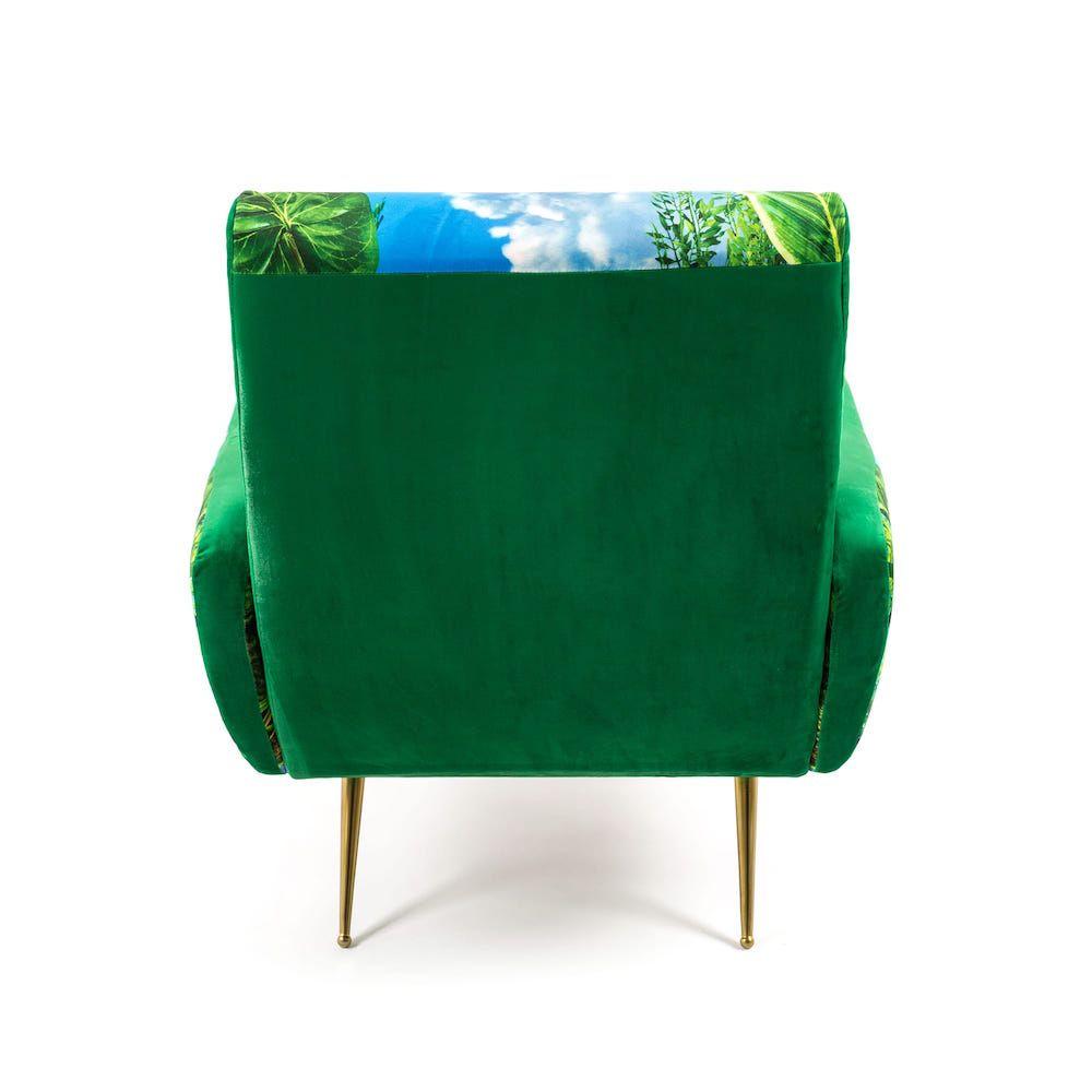 Seletti Armchairs Pop Art Printed Velvet Chairs