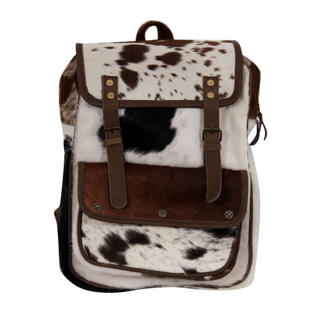 Cowhide Leather Backpack Cool Unique Designs