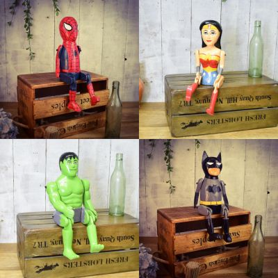 Articulated Comic Book Art Figures