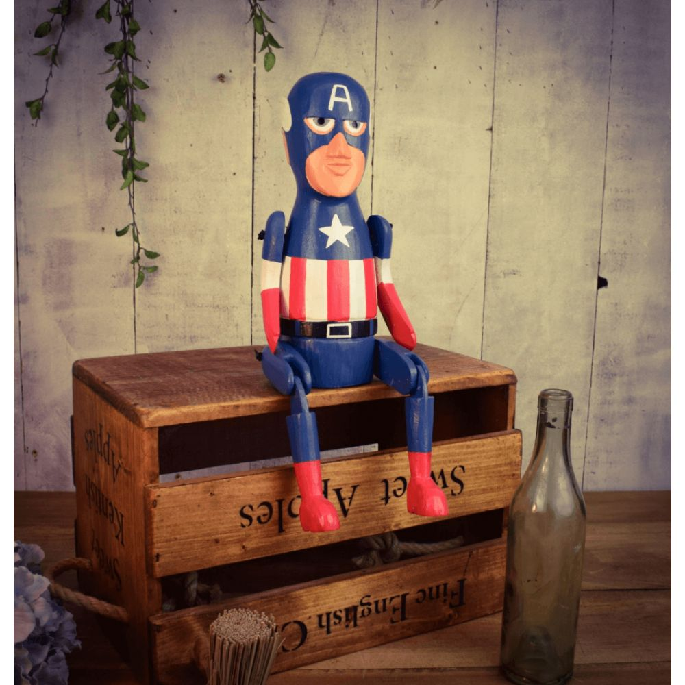 Articulated Comic Book Art Outdoor Garden Accessories