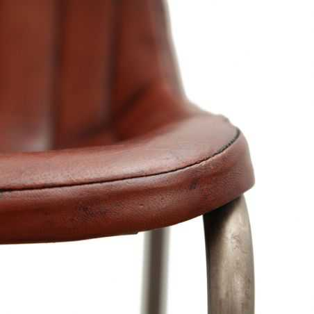 Leather Industrial Cowhide Dining Chair Smithers Archives Smithers of Stamford £ 178.00 Store UK, US, EU, AE,BE,CA,DK,FR,DE,I...