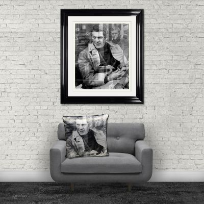 Steve McQueen Cushion