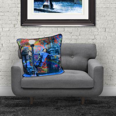 Spraying in the Rain Cushion Cushions £ 50.00 Store UK, US, EU, AE,BE,CA,DK,FR,DE,IE,IT,MT,NL,NO,ES,SE