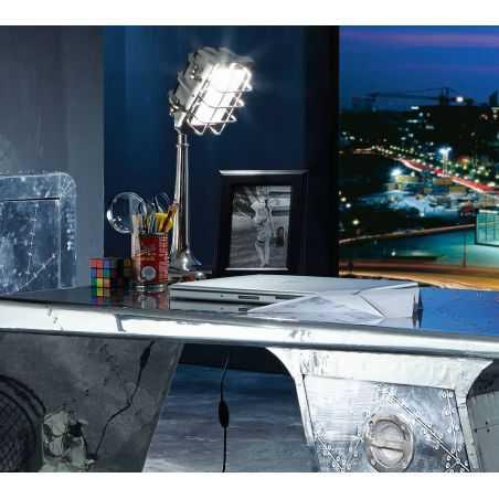 Microphone Desk Lamp Retro Lighting  Smithers of Stamford £ 245.00 Store UK, US, EU, AE,BE,CA,DK,FR,DE,IE,IT,MT,NL,NO,ES,SE