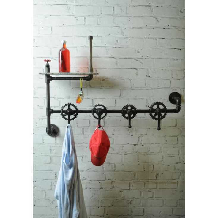 Bicycle Crank Wall Coat Rack Hanger Smithers Archives Smithers of Stamford £ 299.00 Store UK, US, EU, AE,BE,CA,DK,FR,DE,IE,IT...