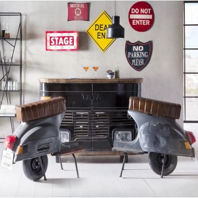 Vespa Scooter Bar Chair