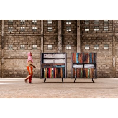 New York Loft Drum Cabinet Reclaimed Wood Furniture Smithers of Stamford 1,454.00 Store UK, US, EU, AE,BE,CA,DK,FR,DE,IE,IT,M...