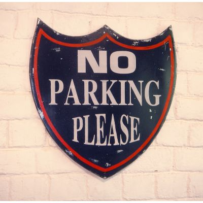 NO Parking Please Retro Signs Smithers of Stamford £ 65.00 Store UK, US, EU, AE,BE,CA,DK,FR,DE,IE,IT,MT,NL,NO,ES,SE