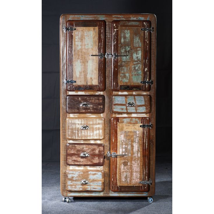 Fridge Boat Wood Tall Cabinet Cabinets & Sideboards Smithers of Stamford £ 1,550.00 Store UK, US, EU, AE,BE,CA,DK,FR,DE,IE,IT...