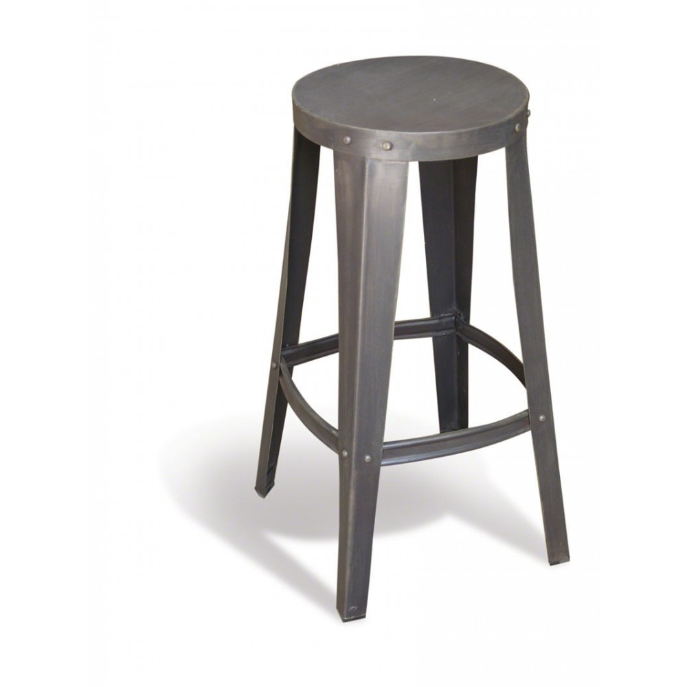 Breakfast Bar Stools Metal Vintage Industrial