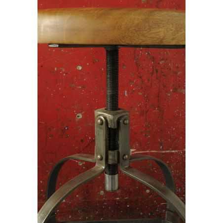 Industrial Swivel Bar Stool Bar Stools Smithers of Stamford £ 173.00 Store UK, US, EU, AE,BE,CA,DK,FR,DE,IE,IT,MT,NL,NO,ES,SE