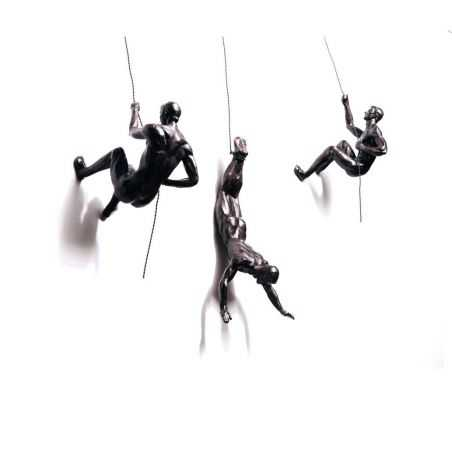 Climbing Men Wall Sculpture Retro Ornaments Smithers of Stamford £ 69.99 Store UK, US, EU, AE,BE,CA,DK,FR,DE,IE,IT,MT,NL,NO,E...