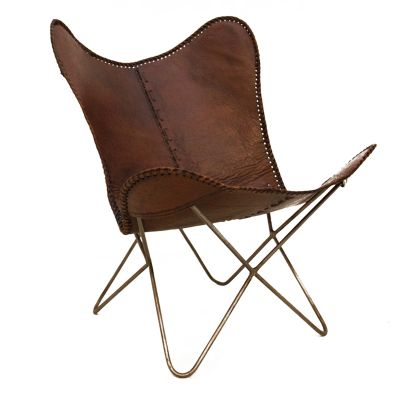 Cowhide And Leather Butterfly Chair Designer Furniture £ 285.00 Store UK, US, EU, AE,BE,CA,DK,FR,DE,IE,IT,MT,NL,NO,ES,SE