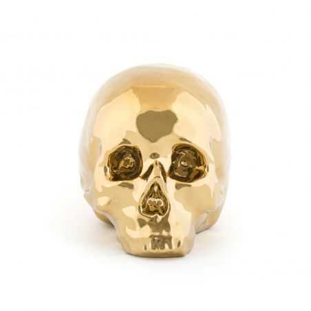 Gold Skull Retro Ornaments Seletti £111.00 Store UK, US, EU, AE,BE,CA,DK,FR,DE,IE,IT,MT,NL,NO,ES,SE