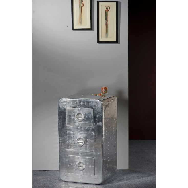 Aviator Storage Chest Chest of Drawers Smithers of Stamford £650.00 Store UK, US, EU, AE,BE,CA,DK,FR,DE,IE,IT,MT,NL,NO,ES,SE