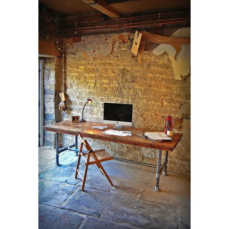 Scaff Desk Upcycled Furniture Smithers of Stamford £ 1,400.00 Store UK, US, EU, AE,BE,CA,DK,FR,DE,IE,IT,MT,NL,NO,ES,SE