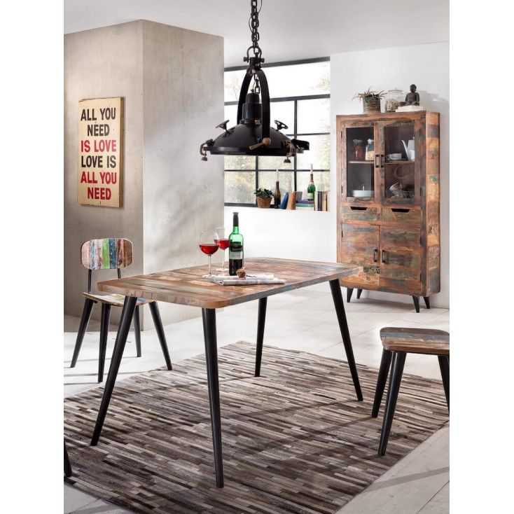 The Dining Room Miami: Reclaimed Dining Table