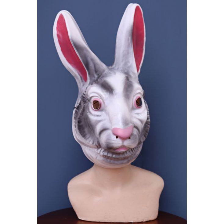 Creepy Rabbit Mask Retro Gifts Smithers of Stamford £ 11.50 Store UK, US, EU, AE,BE,CA,DK,FR,DE,IE,IT,MT,NL,NO,ES,SE