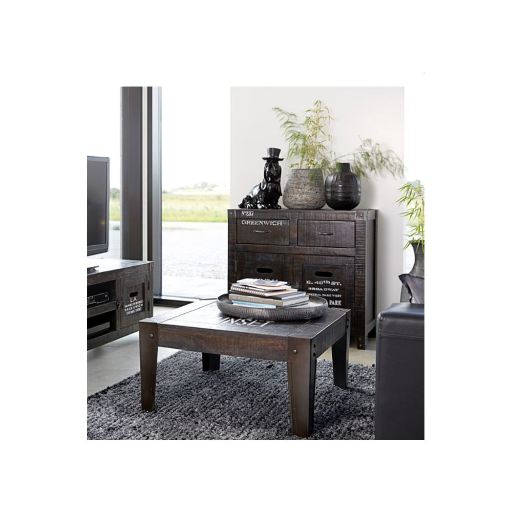 Industrial Style Coffee Table • Industrial Look Coffee Table