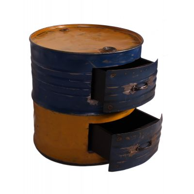 Oil Drum Storage Chest of Drawers