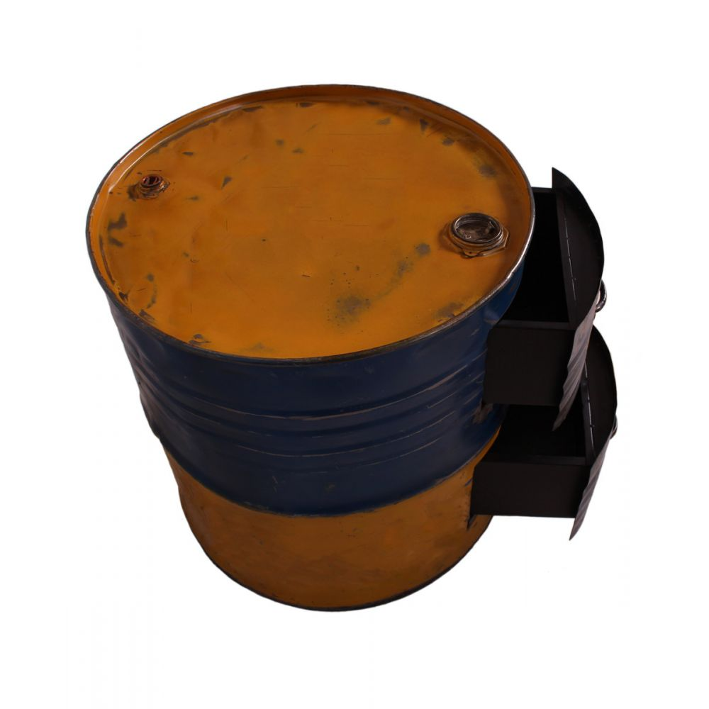 oil drum oil drum accessories steel drum side table