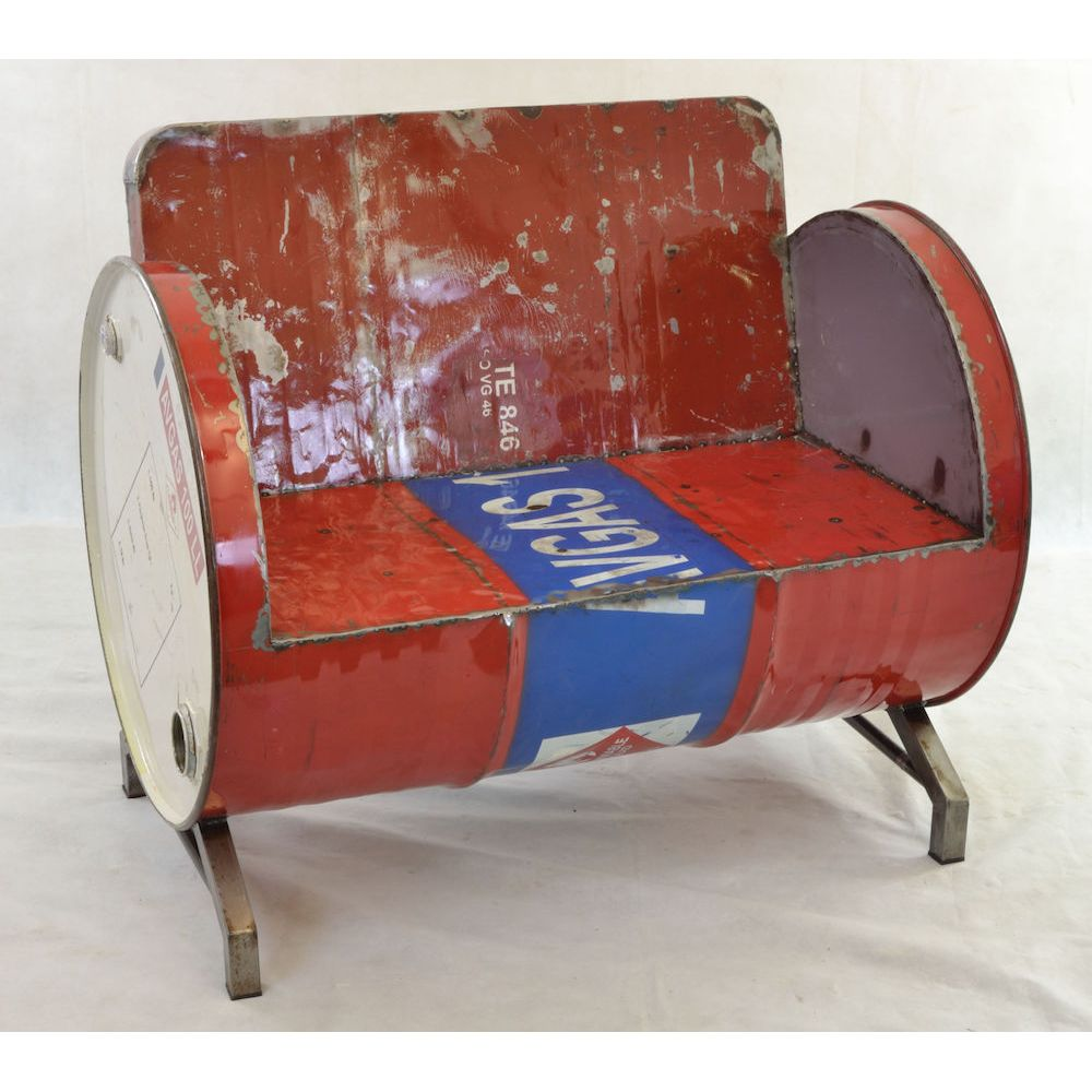 Oil Drum Seat Oil Drum Chair Oil Drum Sofa