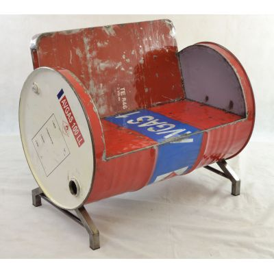 Oil Drum Seat Upcycled Furniture Smithers of Stamford £ 420.00 Store UK, US, EU, AE,BE,CA,DK,FR,DE,IE,IT,MT,NL,NO,ES,SE