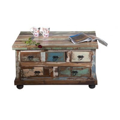 Large Square Coffee Table With Storage