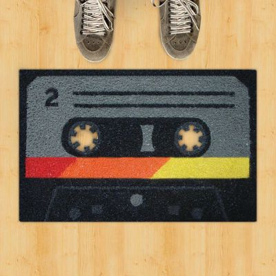 Tape Cassette Doormat Rugs Smithers of Stamford £ 34.95 Store UK, US, EU, AE,BE,CA,DK,FR,DE,IE,IT,MT,NL,NO,ES,SE