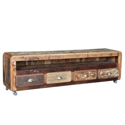 Reclaimed Low TV Stand TV Units Smithers of Stamford 1,250.00 Store UK, US, EU, AE,BE,CA,DK,FR,DE,IE,IT,MT,NL,NO,ES,SE