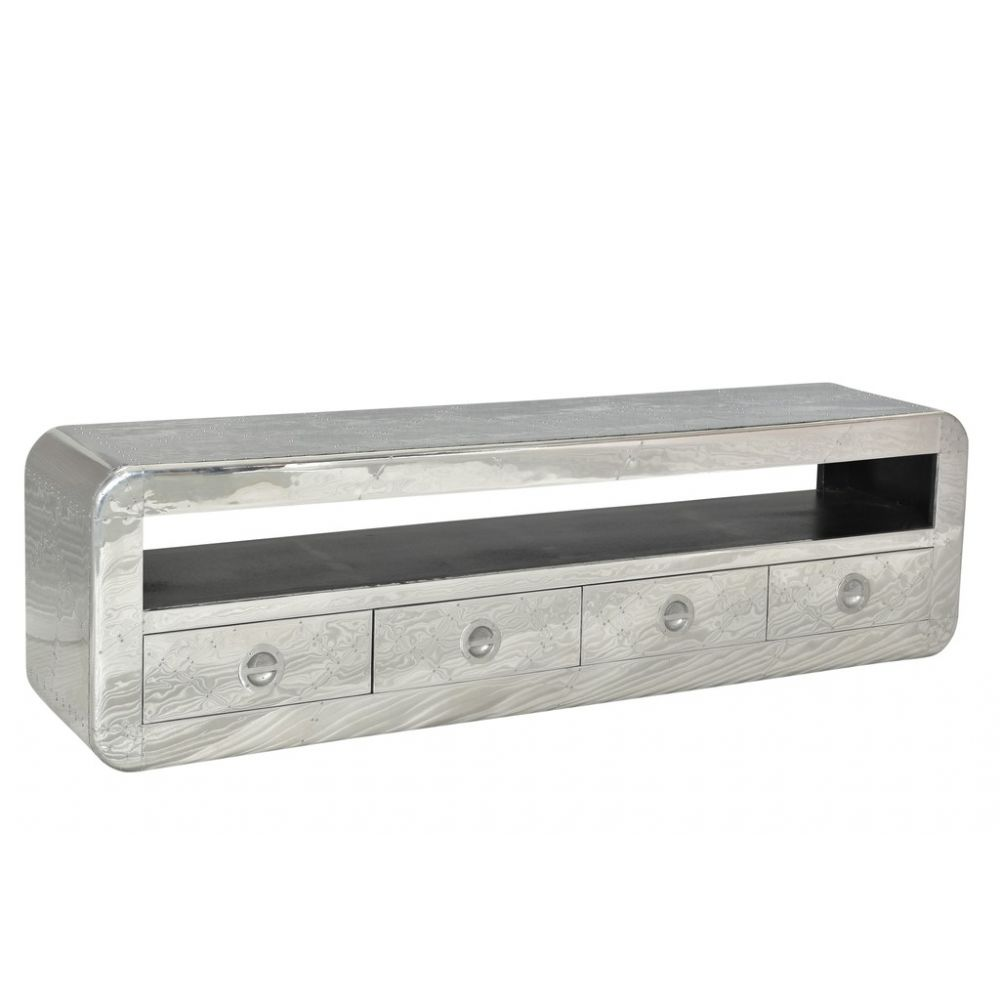 Chrome Tv Cabinet Low Long Flat Tv Stand Designs Aviator