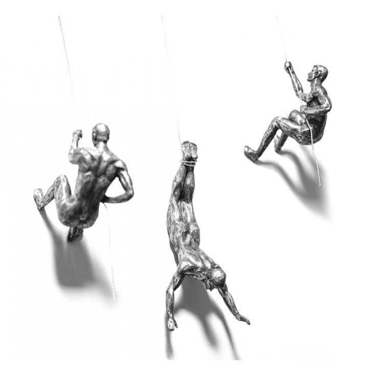Climbing Men Wall Sculpture Retro Ornaments Smithers of Stamford £69.99 Store UK, US, EU, AE,BE,CA,DK,FR,DE,IE,IT,MT,NL,NO,ES,SE