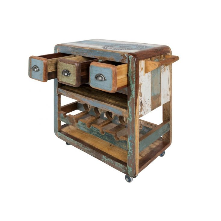 Wooden Mini Bar