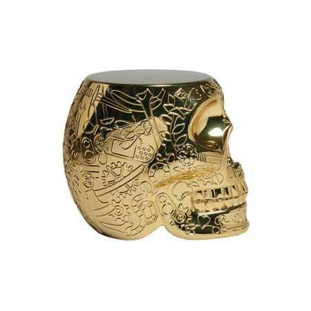 Qeeboo Skull Head Side Table Chairs  £199.00 Store UK, US, EU, AE,BE,CA,DK,FR,DE,IE,IT,MT,NL,NO,ES,SE