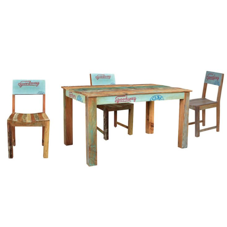 large rustic wood dining tables