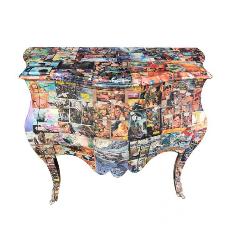 Comic Book Decoupage Chest Smithers Archives Smithers of Stamford £ 720.00 Store UK, US, EU, AE,BE,CA,DK,FR,DE,IE,IT,MT,NL,NO...