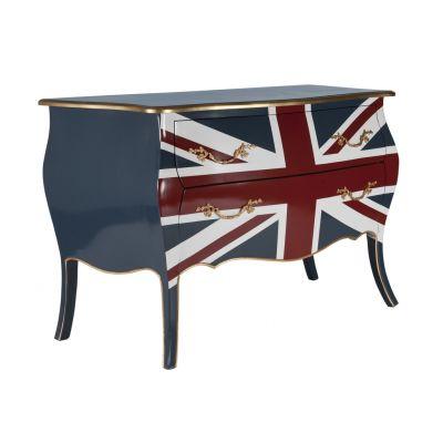 Union Jack Bomb Chest Cabinets & Sideboards 1,580.00 Store UK, US, EU