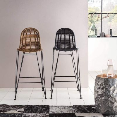 Rattan Bar Stools Retro Furniture Smithers of Stamford £ 280.00 Store UK, US, EU, AE,BE,CA,DK,FR,DE,IE,IT,MT,NL,NO,ES,SE