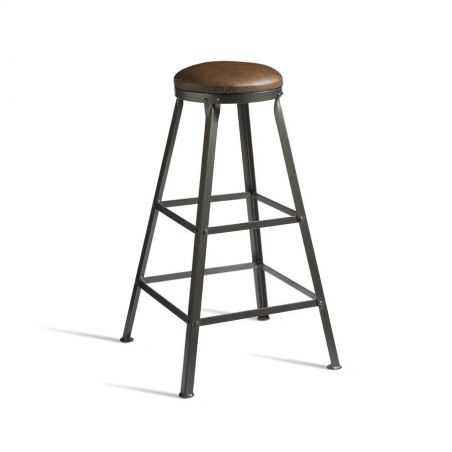 Industrial Bar Stool Designer Furniture Smithers of Stamford £ 195.00 Store UK, US, EU, AE,BE,CA,DK,FR,DE,IE,IT,MT,NL,NO,ES,SE