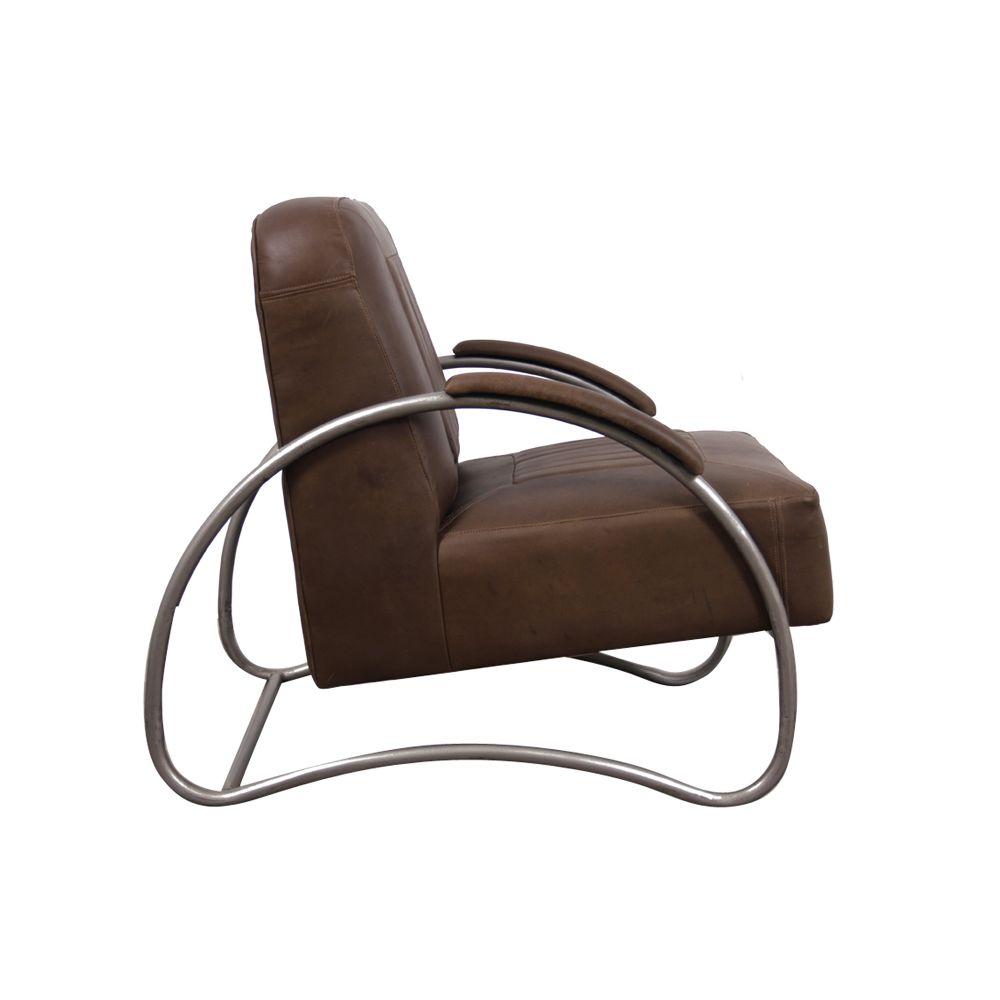 Aviator : Vintage Tan Leather Armchair